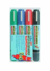 Huopakynä EK325TW4 2in1 4 väriä/sarja
