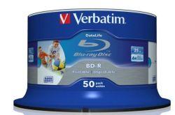 Blu-Ray Levy BD-R wide Inkjet Printable 50kpl/pak