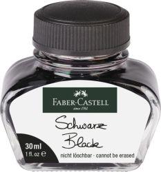Mustepullo musta, 30 ml lasipullossa