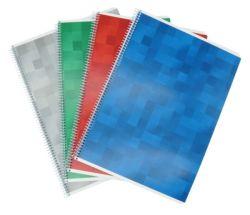 Kierrevihko A4 värilajielma 7x7 ruudut 80 sivua