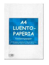 Luentopaperi A4 100 arkkia 8-12 reijitys