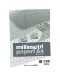 Millimetrilehtiö A4