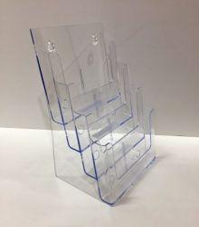 Esiteteline  A4 4-osainen, läpinäkyvä
