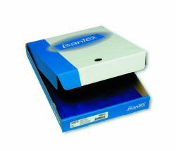 Muovitasku appelsiinipinta A4, sininen, 110 mic, 2-sivua auki, 100 kpl/ltk