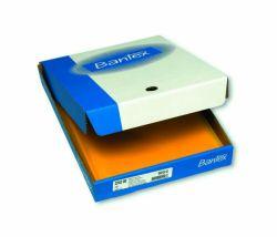 Muovitasku appelsiinipinta A4, keltainen, 110 mic, 2-sivua auki, 100 kpl/ltk