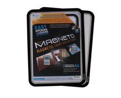 Magneettikehys Tarifold A4 itseliimautuva, musta 2 kpl/pkt