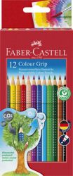Värikynä Colour Grip, 12 väriä/sarja