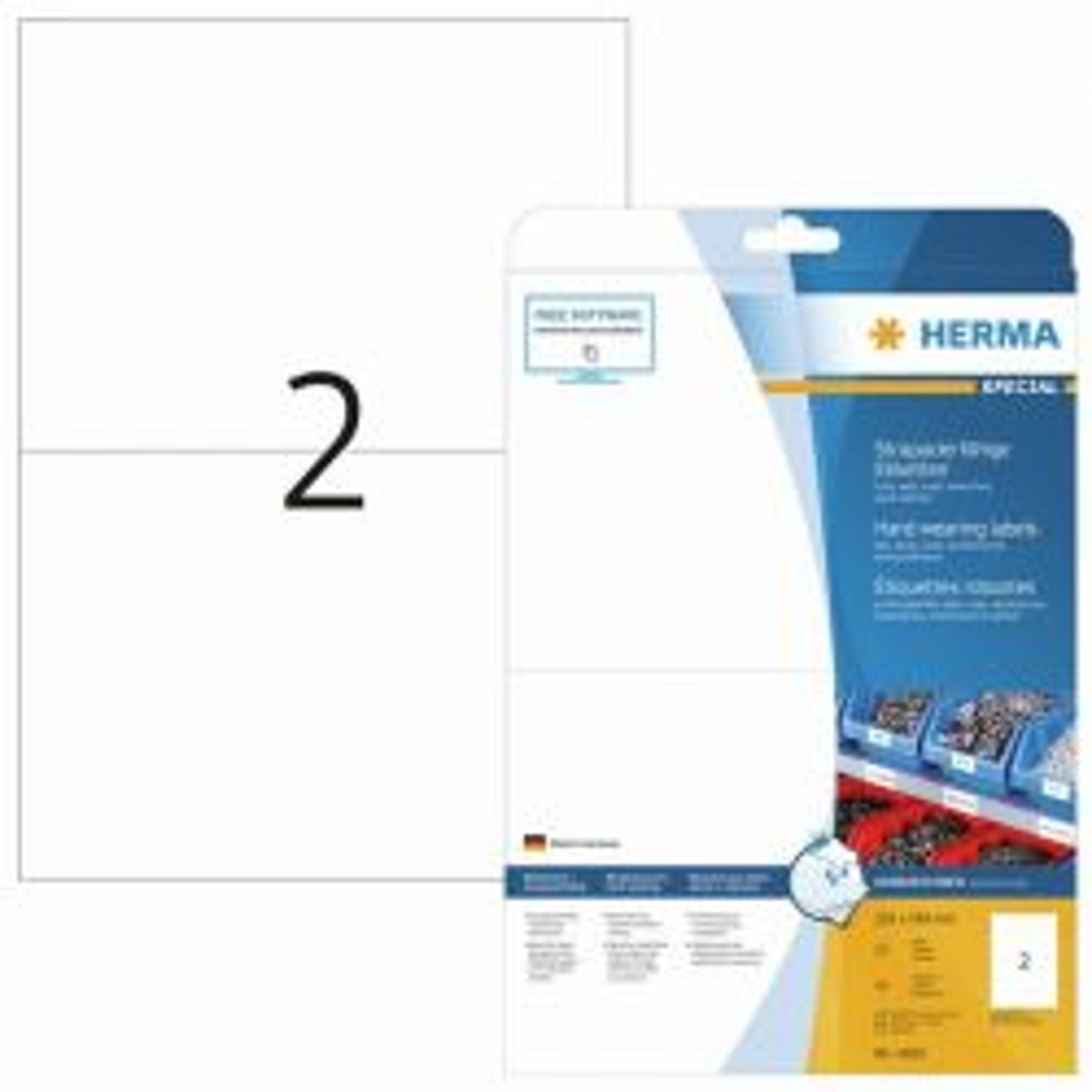 Tarra  säänkestävä 4693, A4, 210x148 mm, 2-osainen, 25 arkkia/laatikko