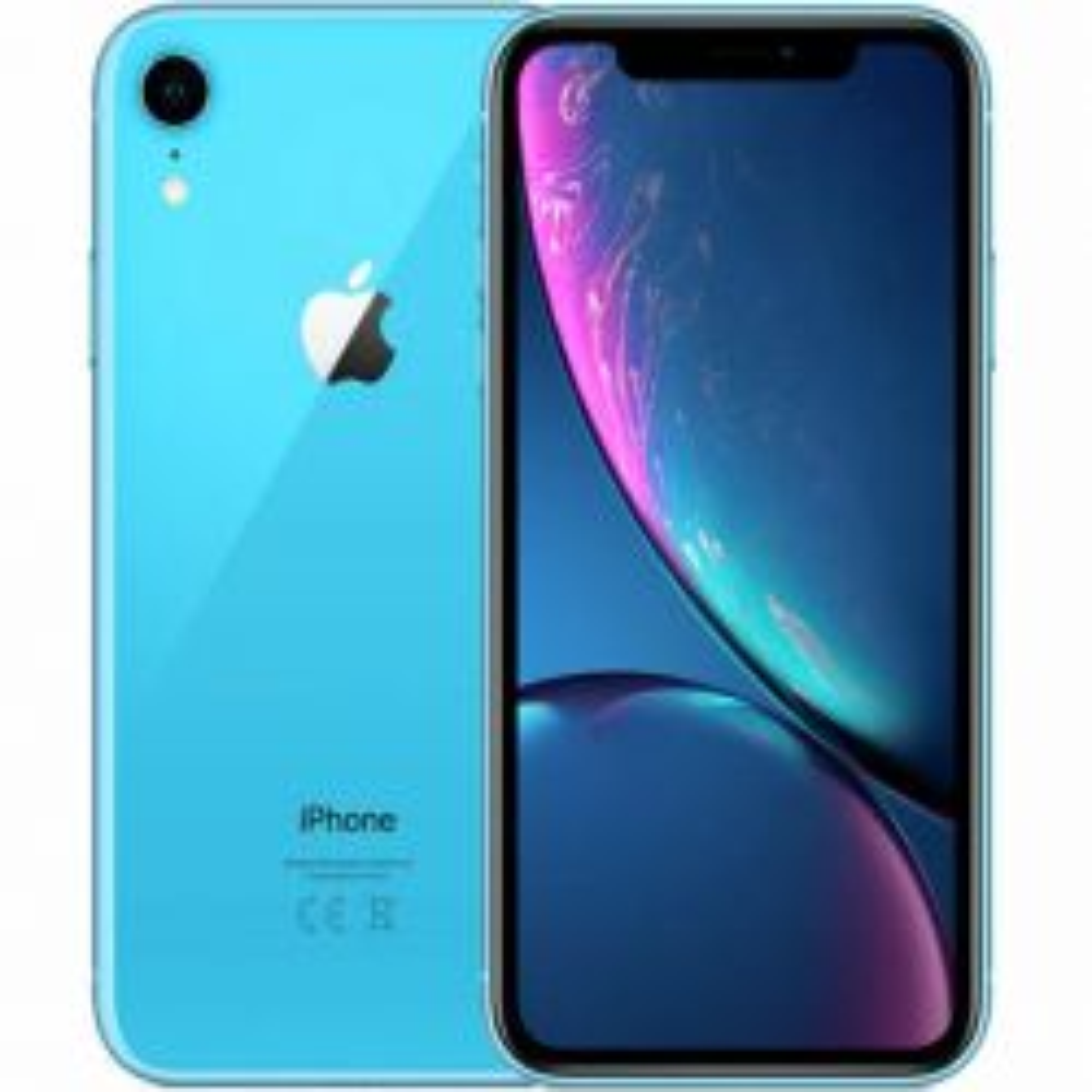 iPhone XR 64Gb Blue tehdashuollettu puhelin