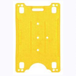 Nimikorttipidike 54x84 mm, keltainen