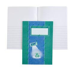 Kirjoitusvihko A5, 20 sivua, blanko / 9 mm vaakaviivoin