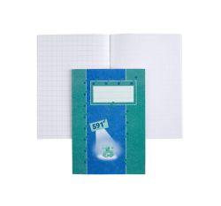 Kouluvihko A5, 20 sivua, 10x10 blanko
