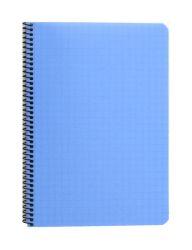 Kierrevihko A5 sininen 7x7 ruudut 80 sivua