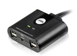 2-Port jakaja 2 x USB 2.0 Type A