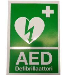 AED opastetarra A5