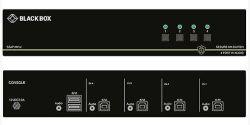 4-Port NIAP 3.0 Secure KVM Switch - USB