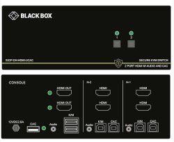 Black box 4-port hdmi usb