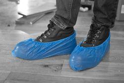 Kengänsuoja kertakäyttö sininen one-size 10kpl