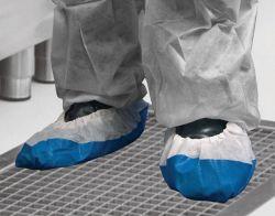 Deluxe kengänsuoja kertakäyttö sininen one-size 5kpl