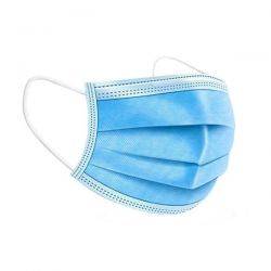 Type I kirurginen suu-nenäsuojus sininen 50kpl