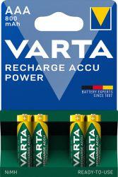 Akku Recharge Accu Power 4 x AAA
