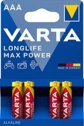 Alkaliparisto Max Tech, AAA LR03 1,5V 4 kpl/pkt