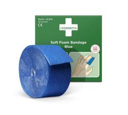 Soft laastari Soft Foam sininen 6cm x 4,5m