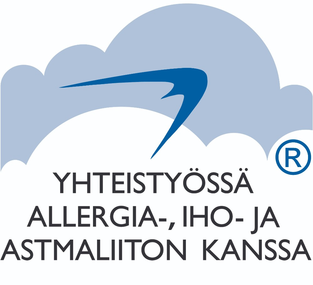 Yhteistyössä allergia-, iho- ja astmaliiton kanssa
